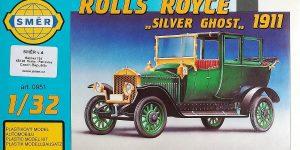 Rolls Royce Silver Ghost 1911 im Maßstab 1:32 von SMER 0951