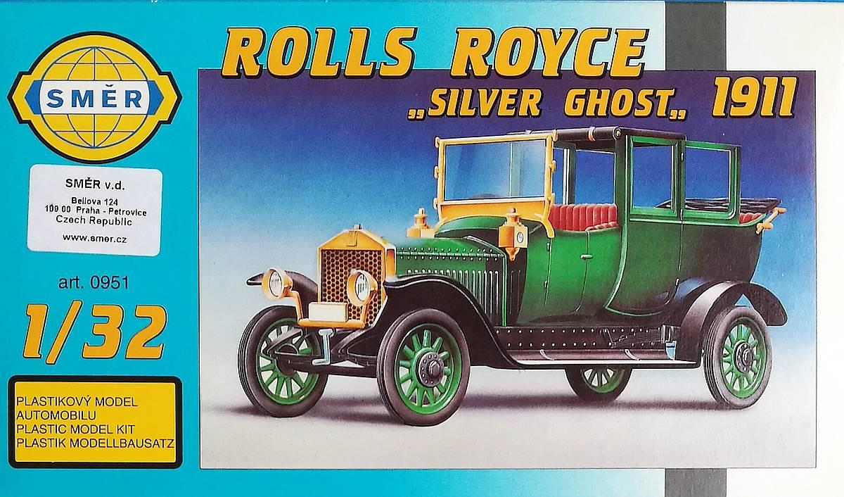 SMER-0951-Rolls-Royce-Silver-Ghost-1911-10 Rolls Royce Silver Ghost 1911 im Maßstab 1:32 von SMER 0951