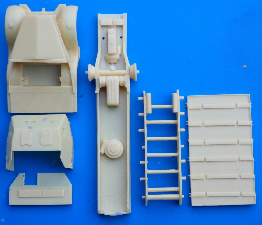 WespeModels-WES-48-156-SdKfz-9-mit-88mm-FLAK-3 SdKfz 9 mit 88mm Flak Selbstfahrlafette in 1:48 Wespe Models WES 48156
