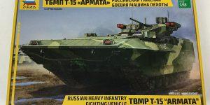 Schützenpanzer T-15 Armata in 1:35 von Zvezda 3681