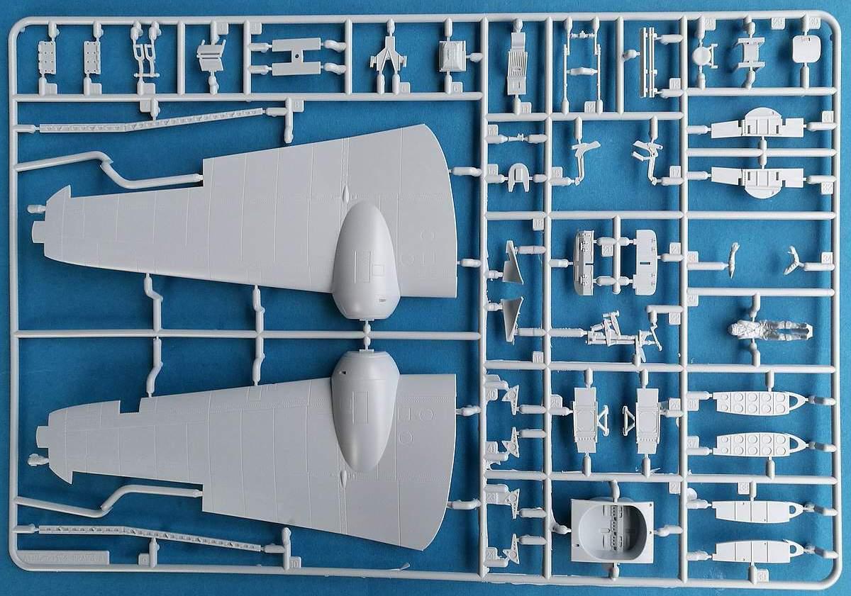 Airfix-A09186-Bristol-Bleneim-Mk.-IF-Spritzling-A-tragflächenoberseite-2 Blenheim Mk. IF im Maßstab 1:48 von Airfix