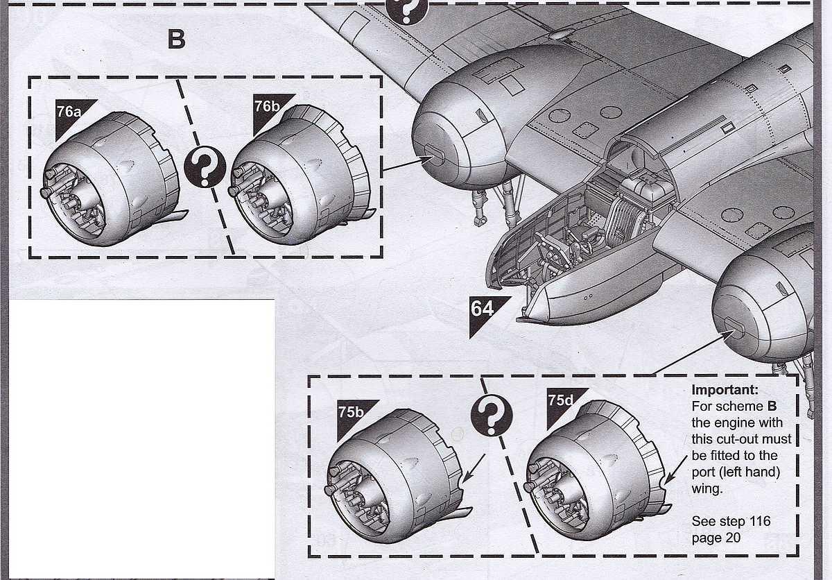 Airfix-A09186-Bristol-Blenheim-Mk.-IF-Motorcowling-Nachtjäger Blenheim Mk. IF im Maßstab 1:48 von Airfix