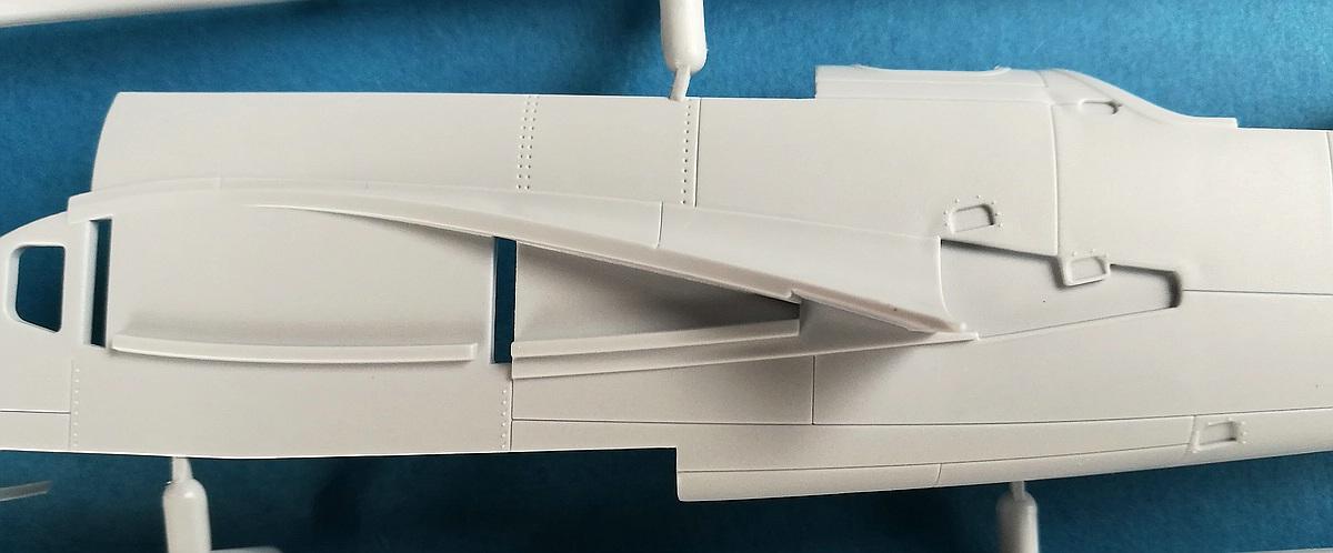 Airfix-A09186-Bristol-Blenheim-Mk.-IF-Spritzling-D-Rumpfhälften-5 Blenheim Mk. IF im Maßstab 1:48 von Airfix