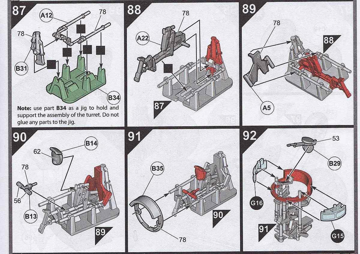 Airfix-A09186-Bristol-Blenheim-Mk.-IF-Turmlehre-Anleitung Blenheim Mk. IF im Maßstab 1:48 von Airfix