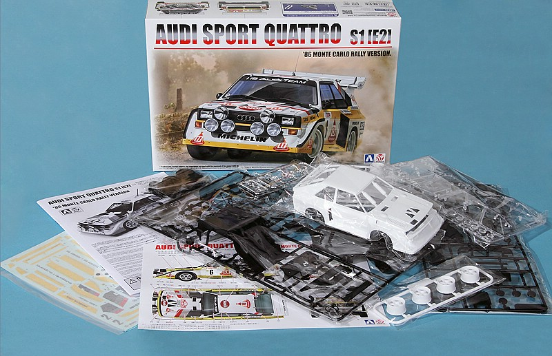 BeeMax-B-24017-AUDI-SPORT-QUATTRO-S1-E2-16 Audi S1 Rallye im Maßstab 1:24 von BeeMax B 24017