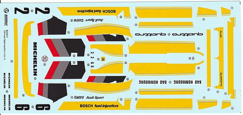 BeeMax-B-24017-AUDI-SPORT-QUATTRO-S1-E2-5 Audi S1 Rallye im Maßstab 1:24 von BeeMax B 24017