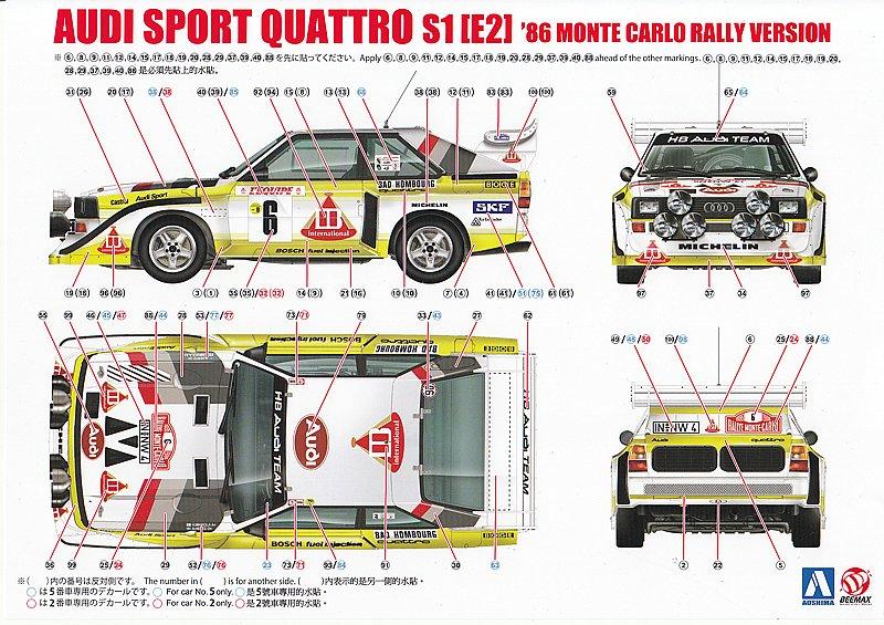 BeeMax-B-24017-AUDI-SPORT-QUATTRO-S1-E2-6 Audi S1 Rallye im Maßstab 1:24 von BeeMax B 24017