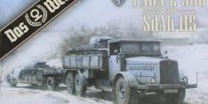 Faun L900 mit SdAh 115 1:35 Das Werk (#35003)