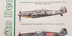 Gustavs over the Balkans – Messerschmitt Bf 109 G-6 von Exito Decals 48001