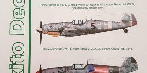 Gustavs over the Balkans – Messerschmitt Bf 109 G-6 von Exito Decals 48001
