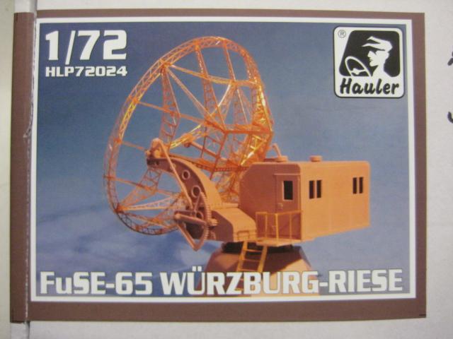 Hauler-HLP-72024-Würzburg-Riese-FuSE-65-German-radar-station-Deckelbild FuSE 65 Würzburg Riese German Radar Station im Maßstab 1:72 von Hauler HLP 72024