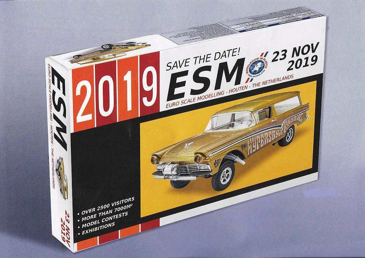 IPMS-NL-ESM-2019 Nicht vergessen - die EuroScaleModelling 2019 am 23. November 2019