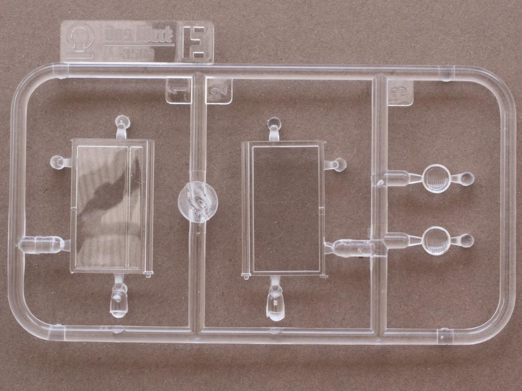 Klarsichtteile Faun L900 mit SdAh 115 1:35 Das Werk (#35003)
