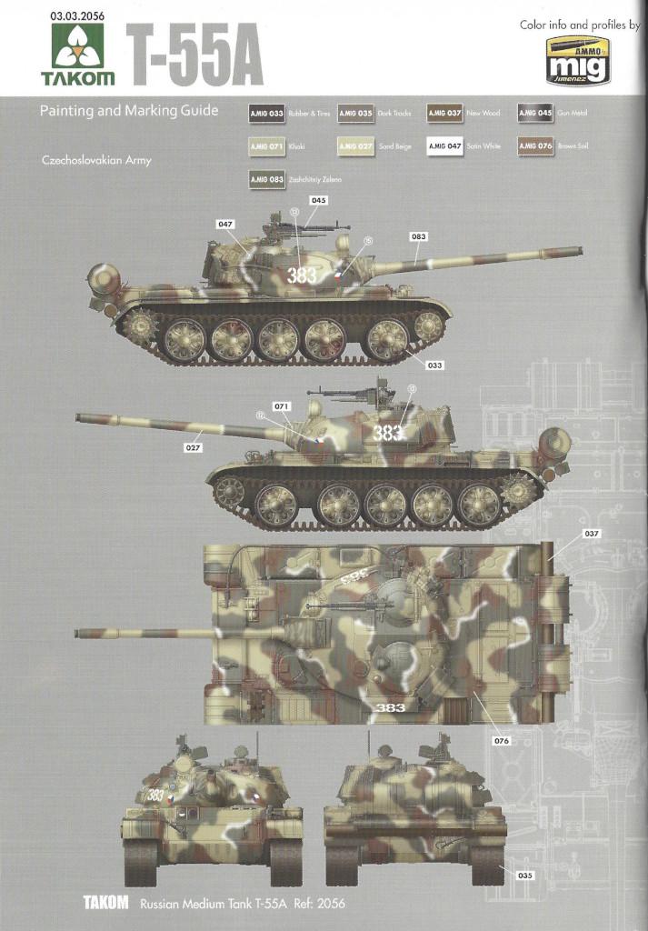 Markierungsvariante2 T-55A 1:35 Takom (#2056)