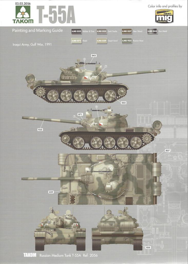Markierungsvariante3 T-55A 1:35 Takom (#2056)