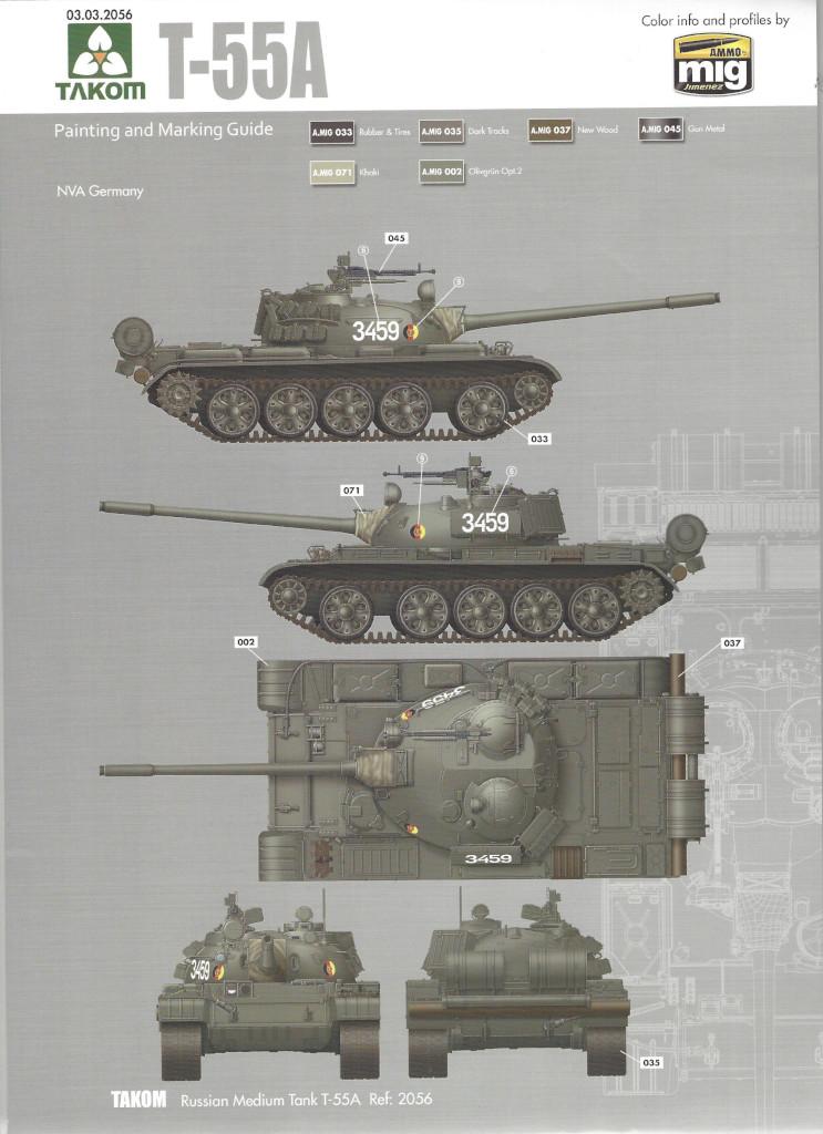 Markierungsvariante5 T-55A 1:35 Takom (#2056)