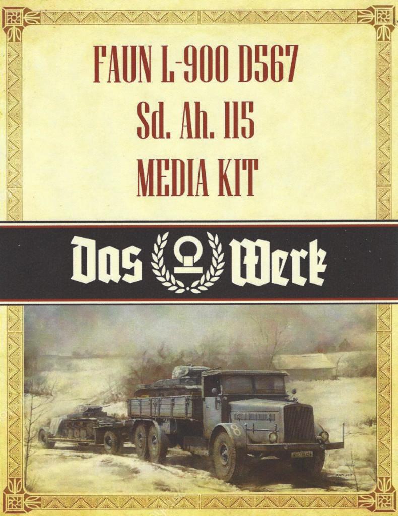 Media1-1 Faun L900 mit SdAh 115 1:35 Das Werk (#35003)