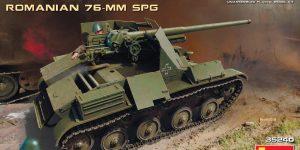 Rumänischer 7,62mm Panzerjäger TACAM auf Fahrgestell T-60 von MiniArt 35240