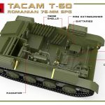 MiniArt-35240-TACAM-T-60-12-150x150 Rumänischer 7,62mm Panzerjäger TACAM auf Fahrgestell T-60 von MiniArt 35240