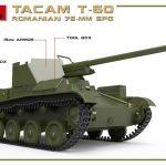 MiniArt-35240-TACAM-T-60-4-150x150 Rumänischer 7,62mm Panzerjäger TACAM auf Fahrgestell T-60 von MiniArt 35240