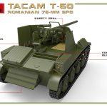 MiniArt-35240-TACAM-T-60-7-150x150 Rumänischer 7,62mm Panzerjäger TACAM auf Fahrgestell T-60 von MiniArt 35240