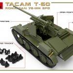 MiniArt-35240-TACAM-T-60-8-150x150 Rumänischer 7,62mm Panzerjäger TACAM auf Fahrgestell T-60 von MiniArt 35240