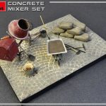 MiniArt-35593-Concrete-Mixer-Set-2-150x150 Concrete Mixer Set im Maßstab 1:35 von MiniArt 35593