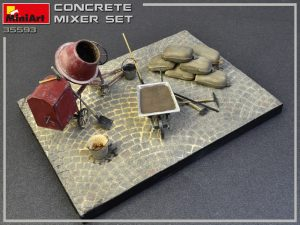 MiniArt-35593-Concrete-Mixer-Set-2-300x225 Печать