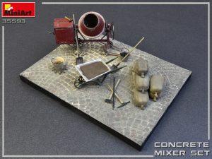 MiniArt-35593-Concrete-Mixer-Set-3-300x225 Печать