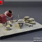 MiniArt-35593-Concrete-Mixer-Set-5-150x150 Concrete Mixer Set im Maßstab 1:35 von MiniArt 35593