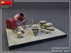 MiniArt-35593-Concrete-Mixer-Set-5-300x225 Печать