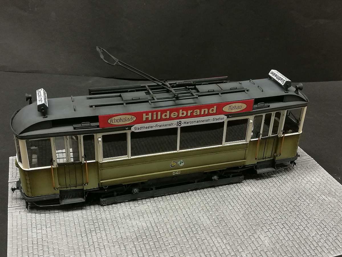 MiniArt-38003-German-Tram-Car-641-Gallerie-1 Gebaut - der Triebwagen 641 im Maßstab 1:35 von MiniArt 38003