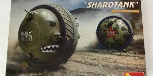 Soviet Ball Tank Sharotank in 1:35 von MiniArt # 40001