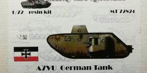 A7V-U im Maßstab 1:72 von ModellTrans MT 72824