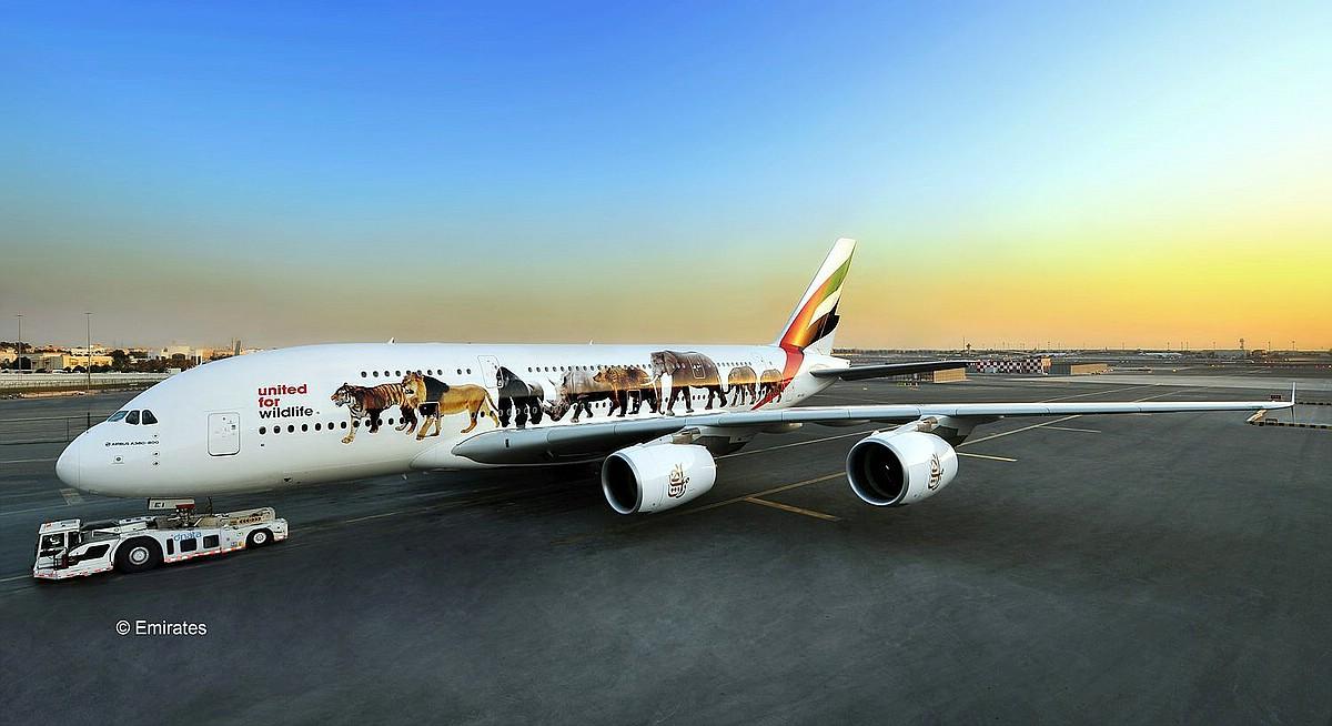 REvell-03882-A380-Emirates-Wild-Life-c-Emirates Revell-Neuheiten 2019 - das II. bis IV. Quartal