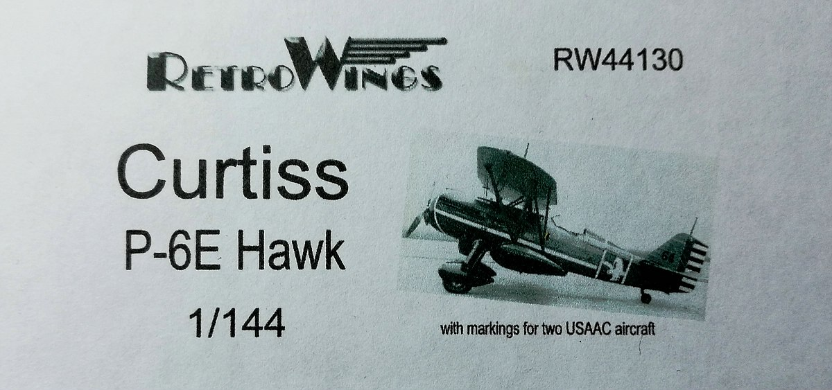 RetroWings-RW-44130-Curtis-P-6§-Hawk-5 Curtiss P-6E Hawk im Maßstab 1:144 von RetroWings RW 44130