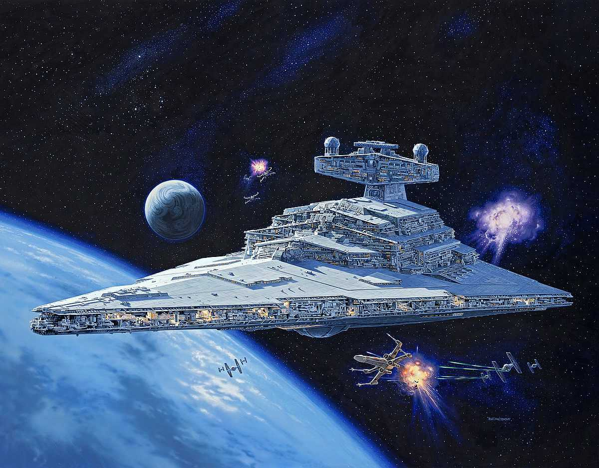 Revell-00456-Imperial-Star-Destroyer Revell-Neuheiten 2019 - das II. bis IV. Quartal