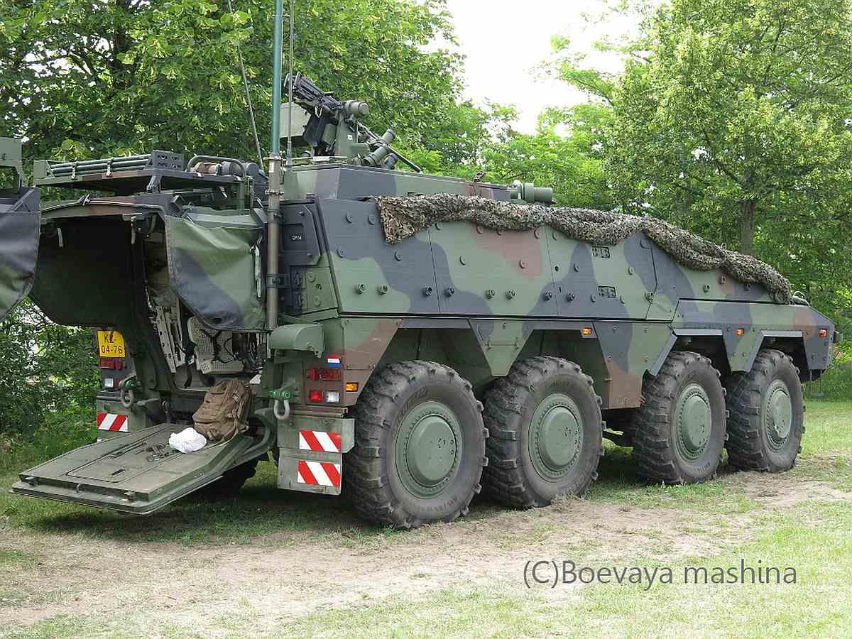 Revell-03283-GTK-Boxer-Command-Post-NL-c-Boevaya-mashina Revell-Neuheiten 2019 - das II. bis IV. Quartal