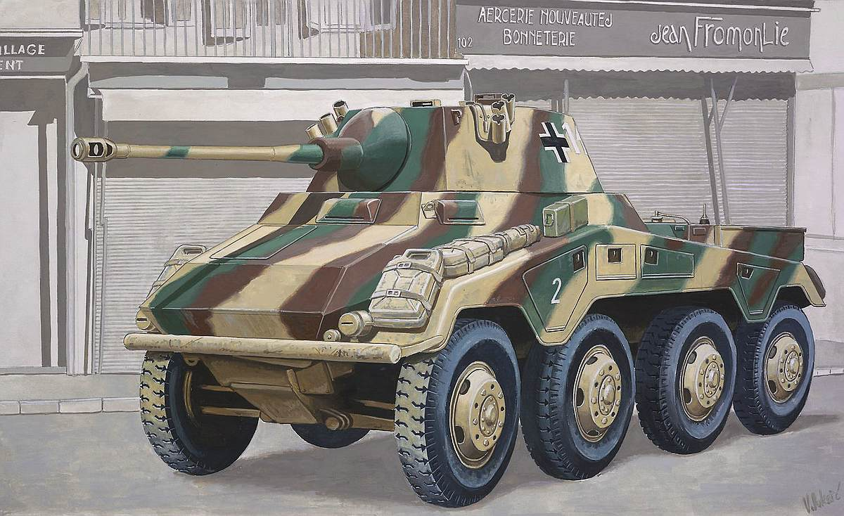 Revell-03288-Sd.Kfz_.-234-2-Puma Revell-Neuheiten 2019 - das II. bis IV. Quartal