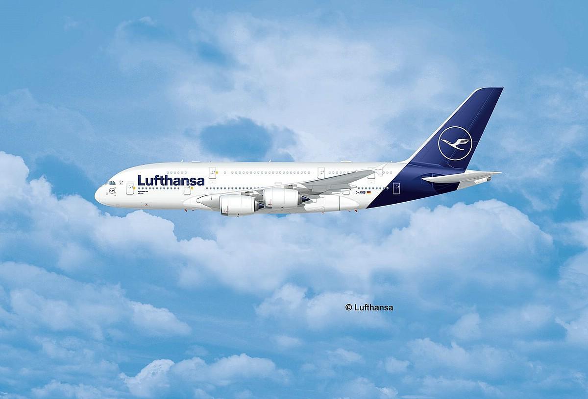Revell-03872-Airbus-A380-800-Lufthansa-New-Livery-c-Lufthansa Revell-Neuheiten 2019 - das II. bis IV. Quartal