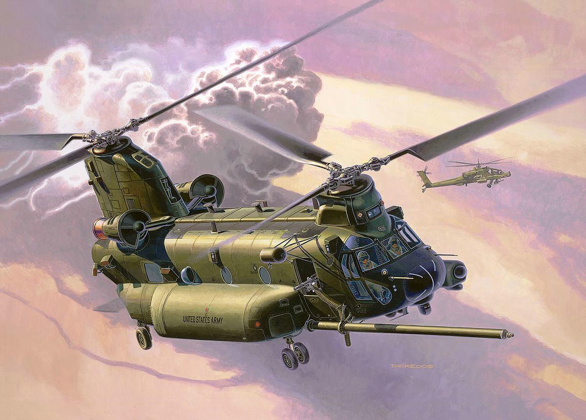 Revell-03876-MH-47-Chinook Revell-Neuheiten 2019 - das II. bis IV. Quartal