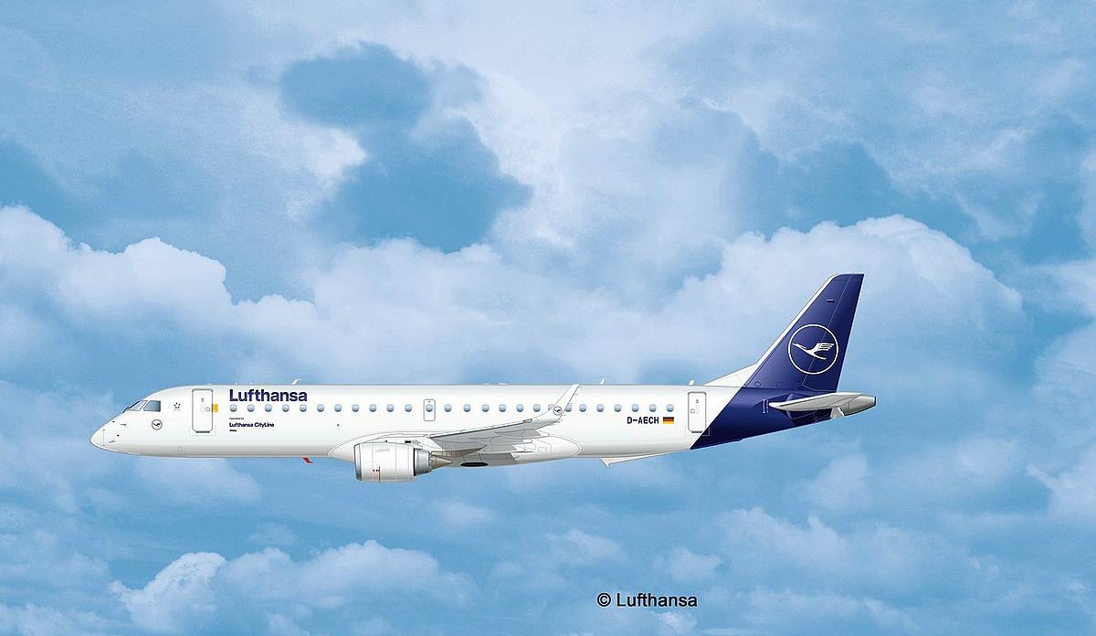 Revell-03883-Embraer-190-Lufthansa-New-Livery-c-Lufthansa Revell-Neuheiten 2019 - das II. bis IV. Quartal