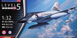 Mirage III E/RD/O im Maßstab 1:32 von Revell 03919