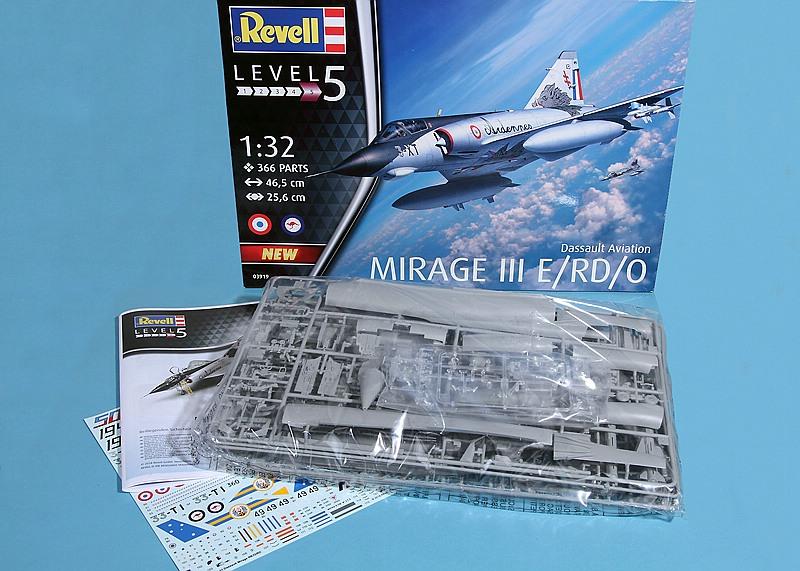 Revell-03919-MIRAGE-III-E-RD-O-11 Mirage III E/RD/O im Maßstab 1:32 von Revell 03919