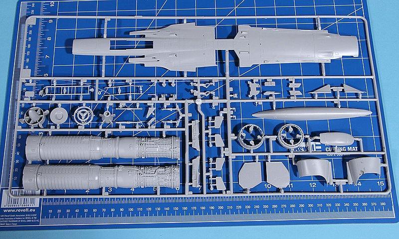 Revell-03919-MIRAGE-III-E-RD-O-25 Mirage III E/RD/O im Maßstab 1:32 von Revell 03919