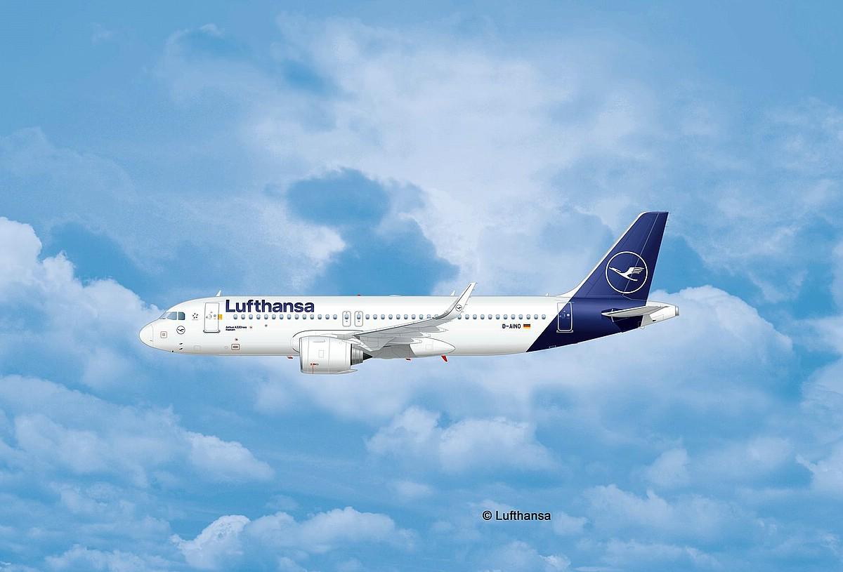 Revell-03942-Airbus-A320-Neo-Lufthansa-New-Livery-c-Lufthansa Revell-Neuheiten 2019 - das II. bis IV. Quartal