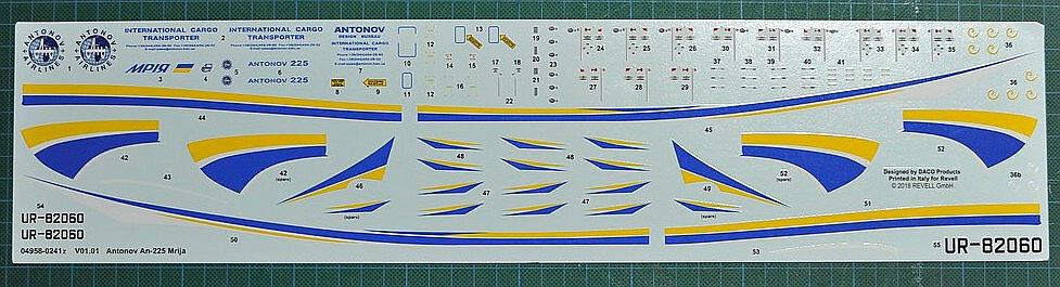 Revell-04958-Antonov-An-225-Mrija-36 Antonov An-225 MRIJA in 1:144 von Revell 04958