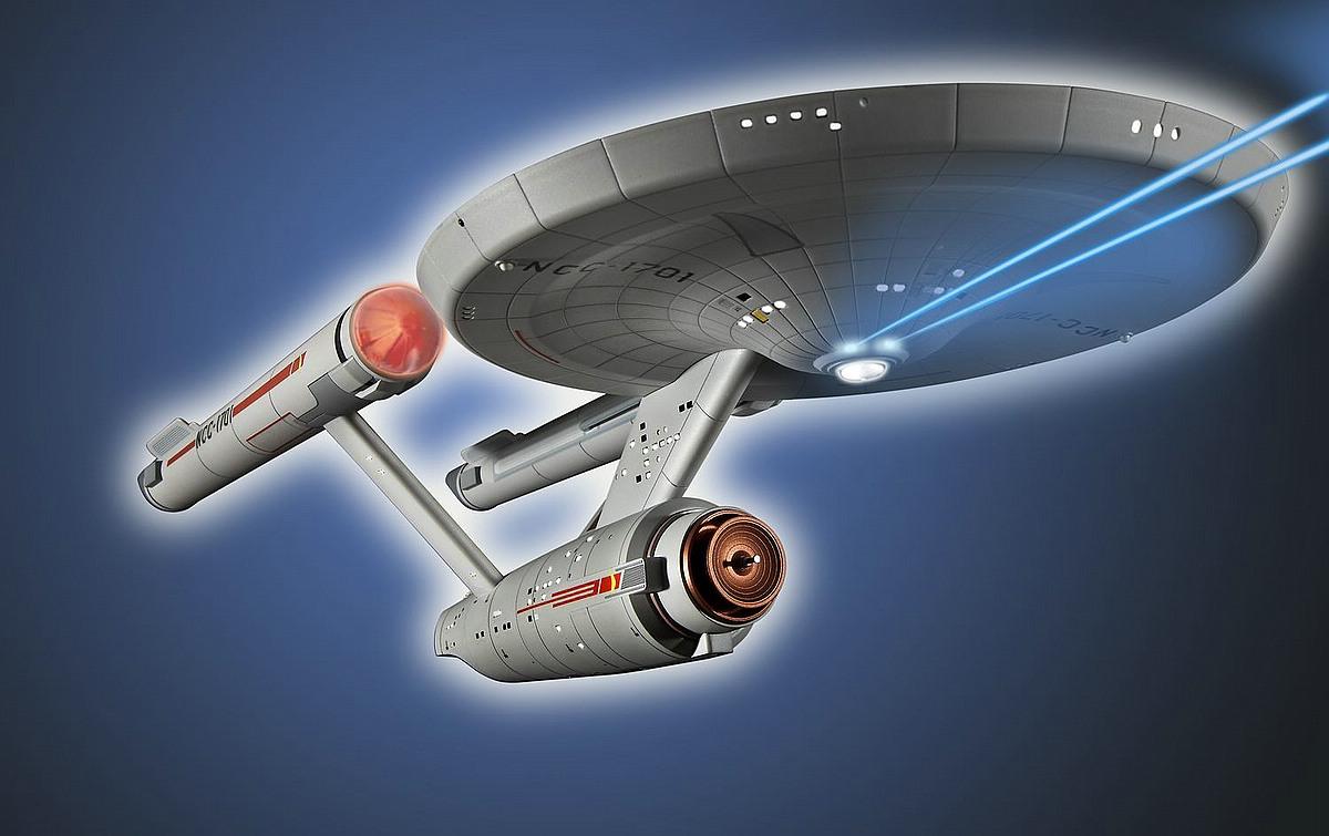 Revell-04991-USS-Enterprise-NCC-1701 Revell-Neuheiten 2019 - das II. bis IV. Quartal