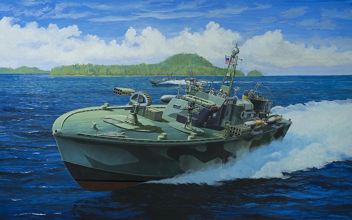 Revell-05165-Patrol-Torpedo-Boat-PT-588PT-579 Revell-Neuheiten 2019 - das II. bis IV. Quartal