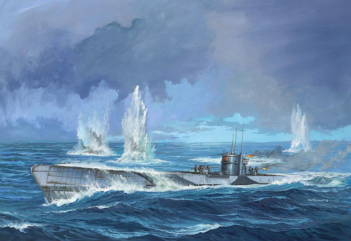 Revell-05166-German-Submarine-Type-IX-C-U67-U154-early-conning-tower Revell-Neuheiten 2019 - das II. bis IV. Quartal